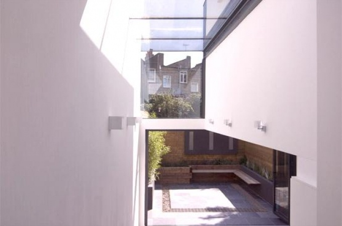 Double height with glass roof home side extension  - - - Natural light Galore!