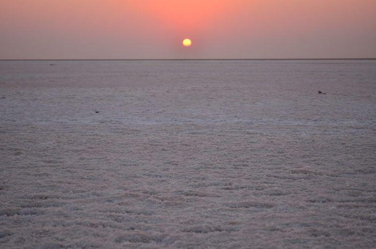 The Great Rann of Kutch, Gujurat, India - Salt Marsh