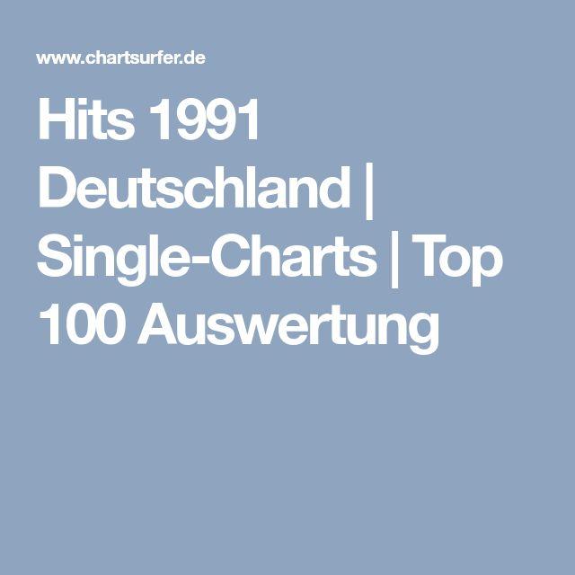 Hits 1991 Deutschland   Single-Charts   Top 100 Auswertung