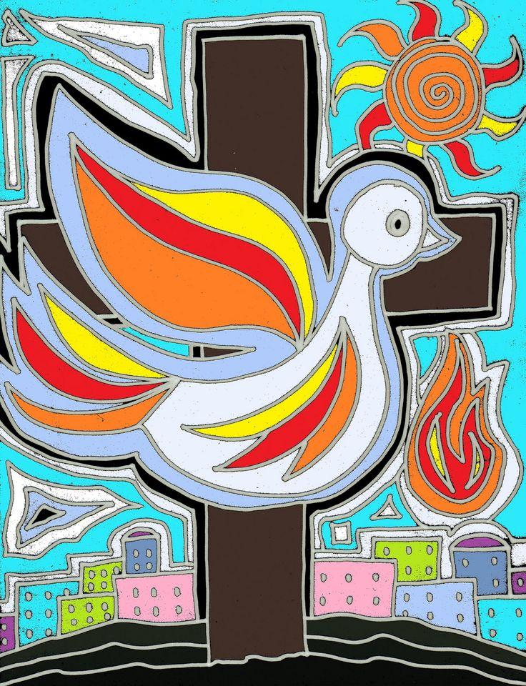 pentecost symbols clip art