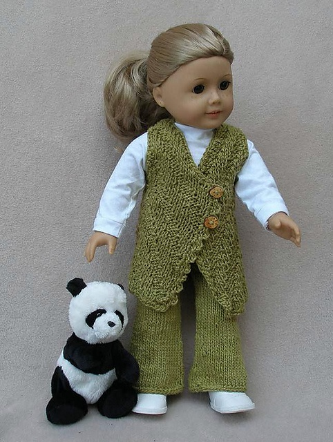 """Ravelry: American Girl 18"""" doll First Impression pattern by Ase Bence"""