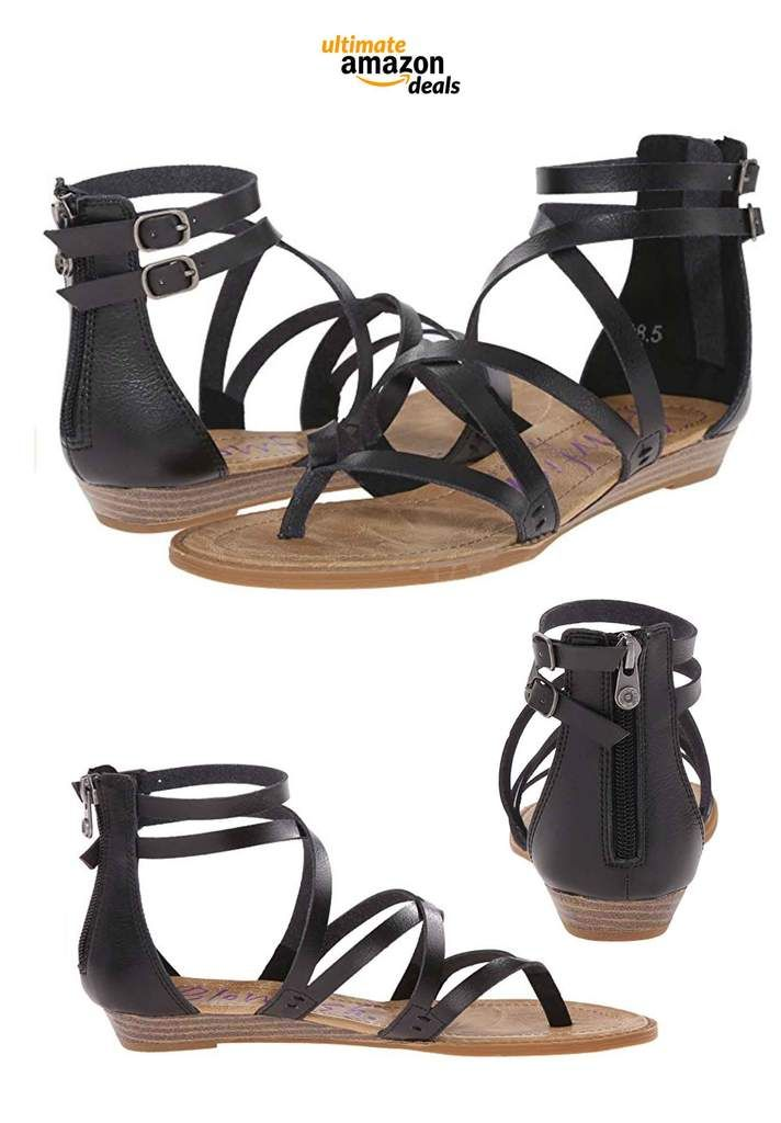 0168d10a1dcc 15 Must Have Strappy Sandals That Can Be Ordered On Amazon For Festival  Season!
