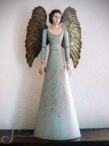 beautiful antique angel..