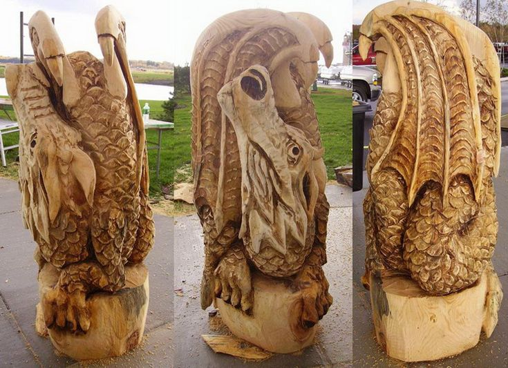 Best images about log carvings on pinterest parks