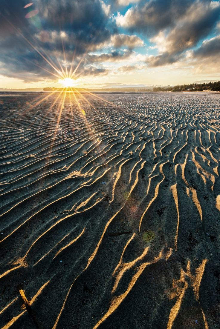 After the sea - Rathtrevor Beach Provincial Park is located 3 km south of Parksville on Hwy 19a, on central Vancouver Island.