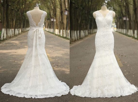 Hey, I found this really awesome Etsy listing at https://www.etsy.com/listing/229040841/whiteivory-wedding-dresslace-wedding