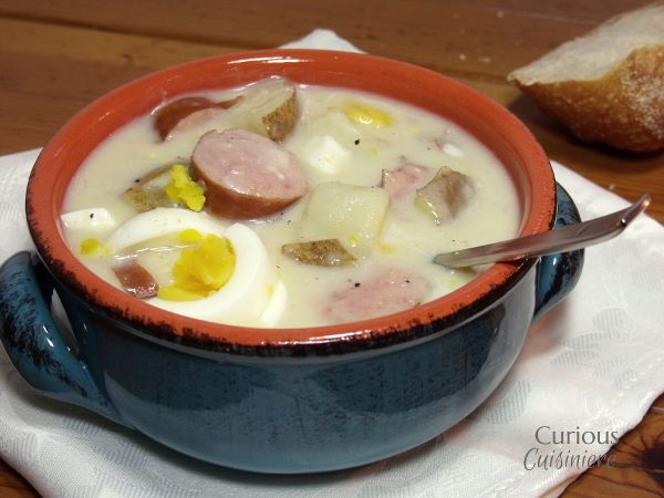 White borscht is a tasty Polish soup eaten Easter morning that is heavy in traditional significance.