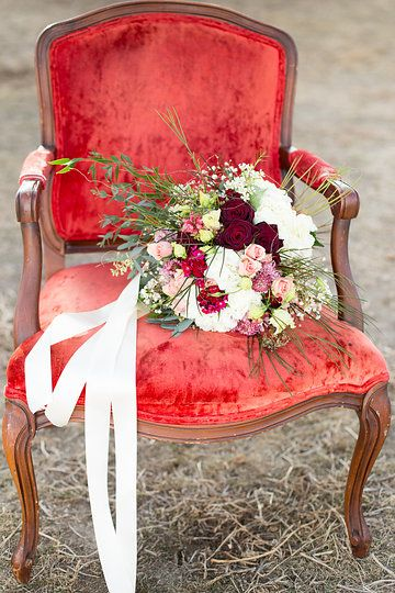 Flowers by Corinthia Flowers - Photo from Rustic Glam Styled Wedding collection by Kaycee Ann Photography