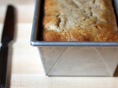 Flour's Famous Banana Bread- the ONLY Banana Bread Recipe anyone needs- tips used frozen bananas and this does make great muffins (add mini-chocolate chips for rave reviews!).