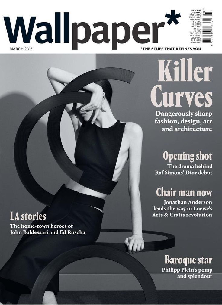 Wallpaper March 2015 Covers (Wallpaper Magazine)