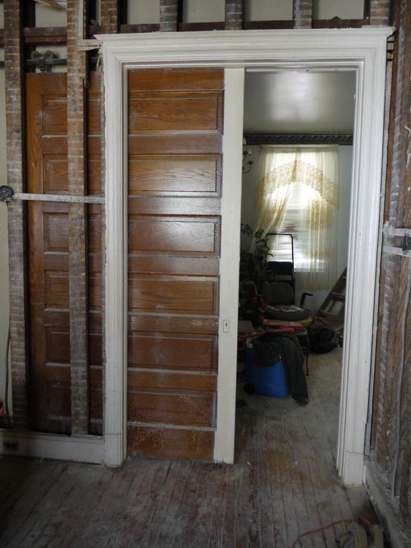 Pocket Doors Or Sliding Pocket Doors Are Commonly Used In Closet Openings  Or Where There Is