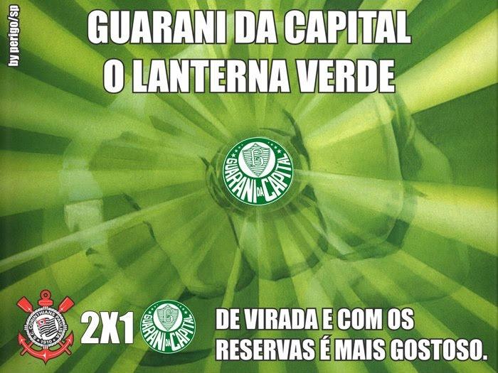 Palmeiras, o Guarani da Capital : Lanterna Verde