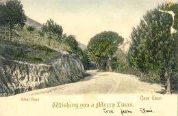 Kloof Road, Vintage Cape Town postcard