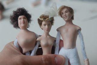 Tarun nuket - Miniature dolls by Taru Astikainen: Wannabee movie stars