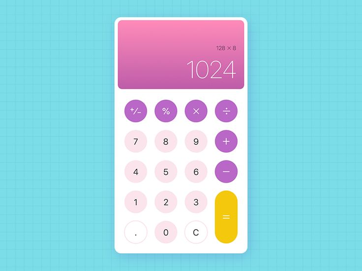 32 best Calculator images on Pinterest | Calculator, Mobile ui and ...