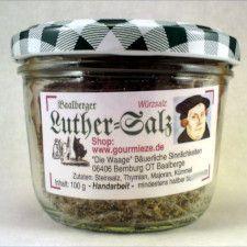 Luther-Salz direkt vom Luther-Weg! #bernburg #luther #lutherweg #luthertrail #fuhne #food #shopping