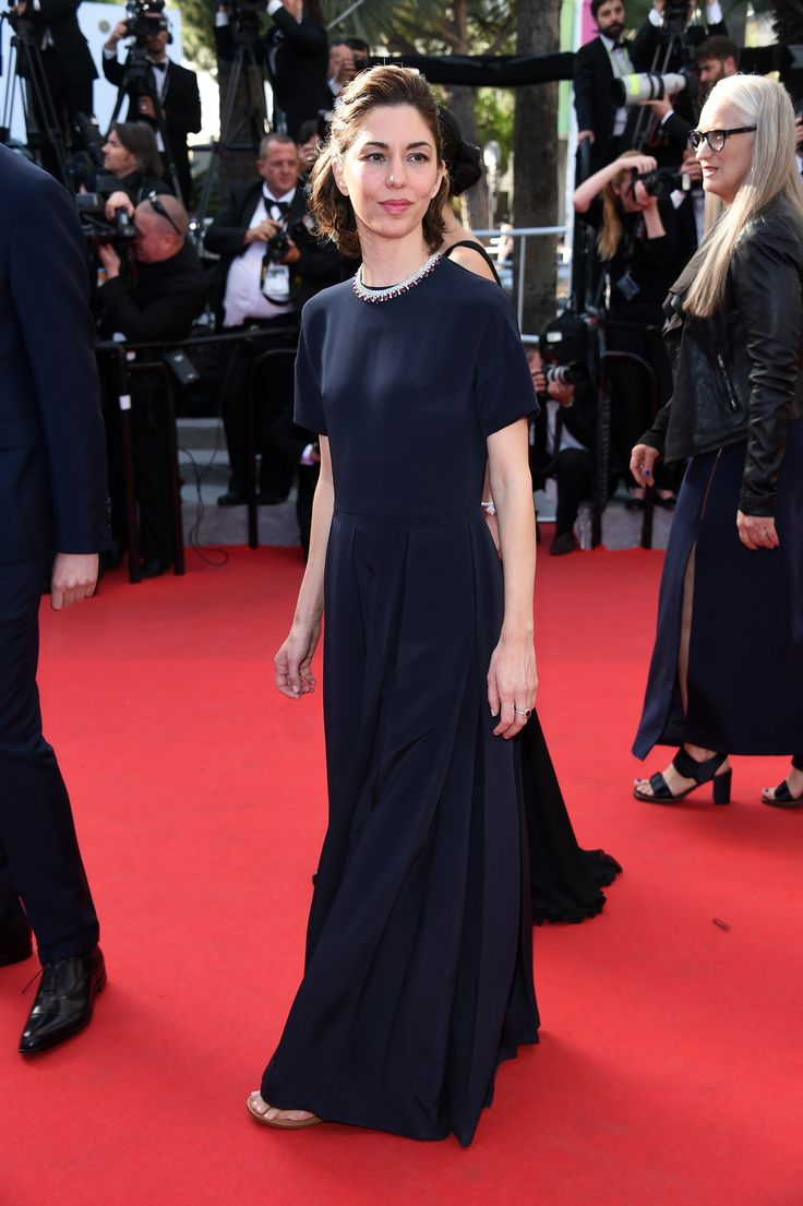 Sofia Coppola is wearing a Valentino gown especially designed by Creative Directors, Maria Grazia Chiuri and Pierpaolo Piccioli to The Closing Ceremony and 'A Fistful of Dollars' Screening during the 67th Annual Cannes Film Festival, May 24th, 2014
