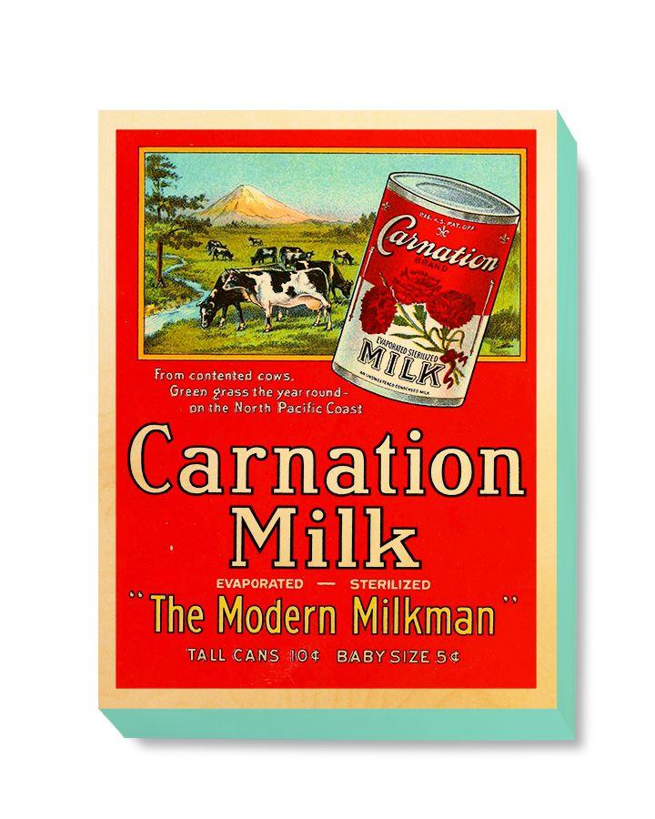 ADV 102 Advertising Art Carnation Milk