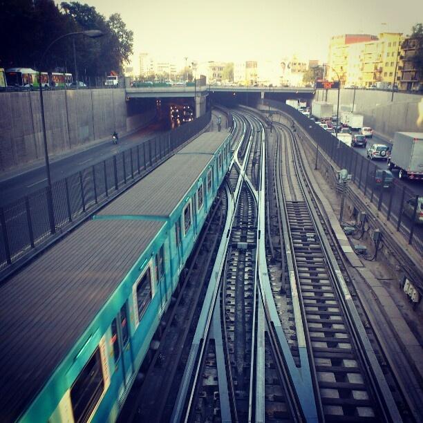 Metro Los Heroes - Santiago de Chile