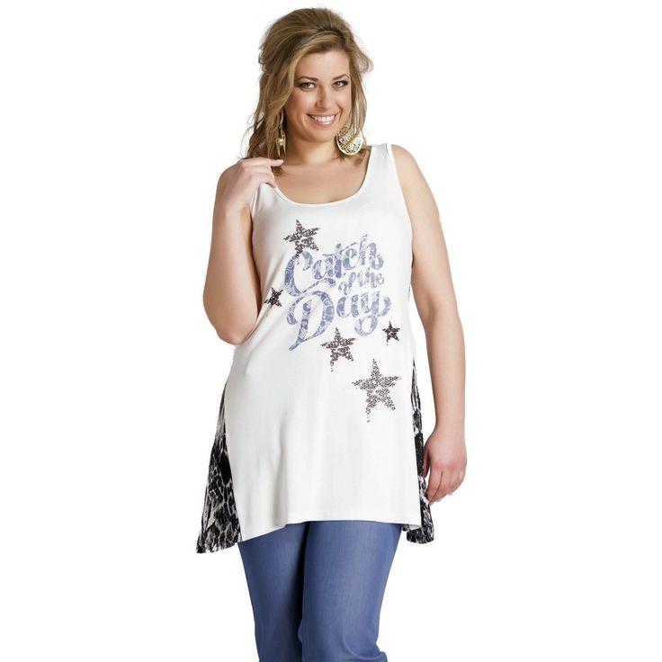 Μπλουζοφόρεμα  αμάνικο  με στάμπα και διπλό ύφασμα στο πλαι (6024)
