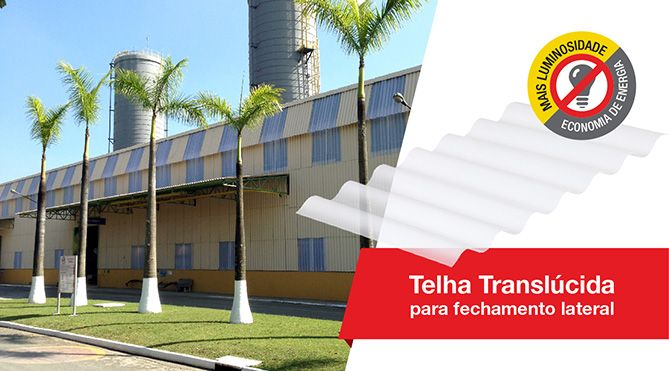Telha Translúcida - Brasilit