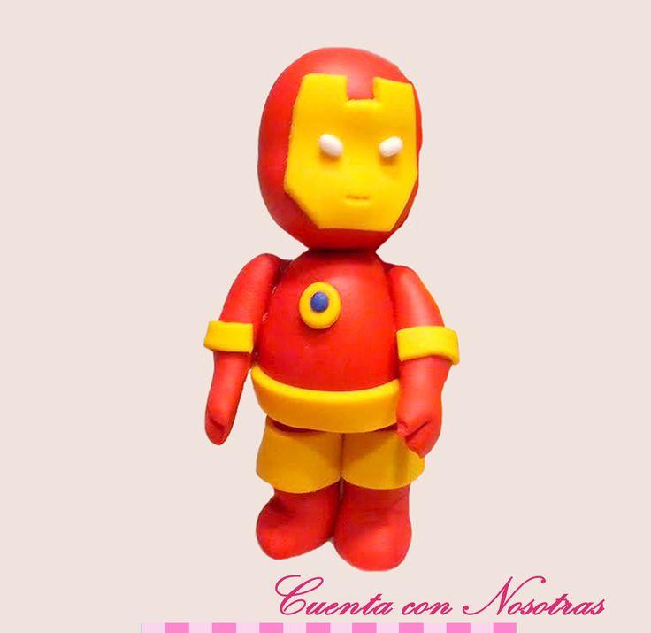 Modelado Ironman Ironman Fondant