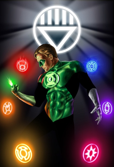 Hal Jordan - The Green Lantern.