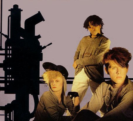 Thompson Twins in Dallas at the Bandshell in Sept. 1983
