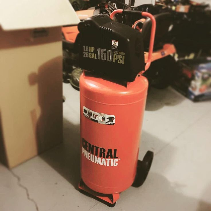"""282 Likes, 3 Comments - Harbor Freight Tools (@harborfreight) on Instagram: """"The generous 26 gal. tank on this Oilless Air Compressor (Item #68067) gives you the power to…"""""""
