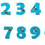 Números de Paw Patrol para descargar gratis