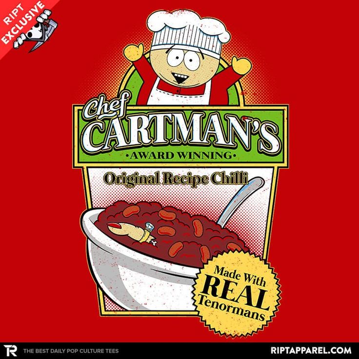 Tenorman Chilli T-Shirt - South Park T-Shirt is $11 today at Ript!