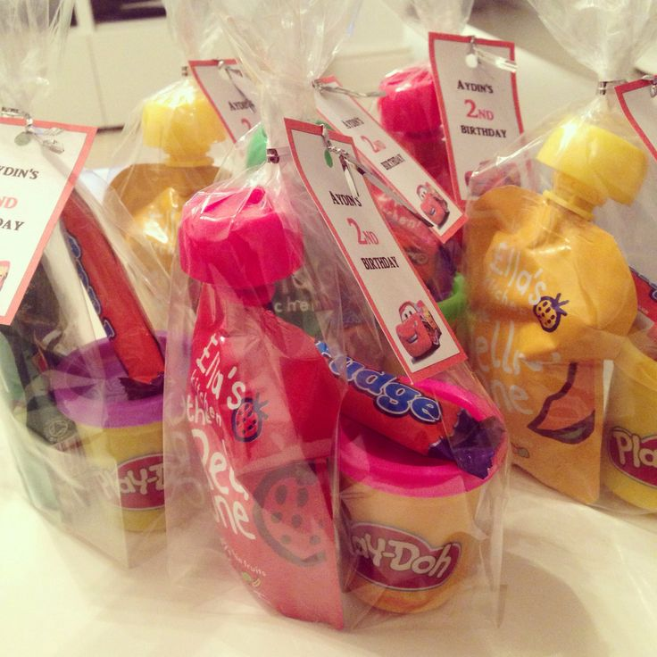 Healthy Favors Favours For Kids Fruit Smoothies Play Doh