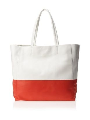 58% OFF Sorial Women's Lucy Tote, Coral Red