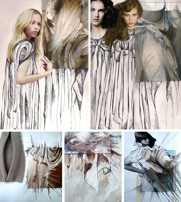 Textiles and Fashion Design Sketchbooks - 20 Inspirational ...