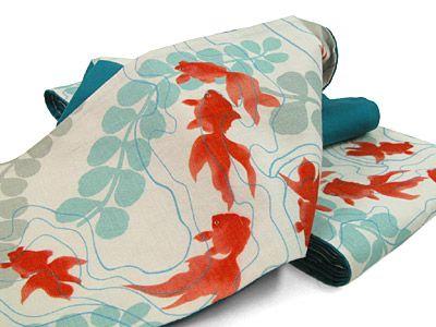 Japanese print pattern@KINGYO | 金魚