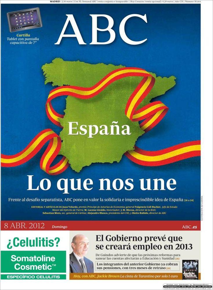 horreur - ABC aberri egunean: Of, 2012Ko Aberri, Aberri Egunean, Egunean Ateratako, Of The, Bandera Pots Sóc, Abc Aberri, Book Jackets, Dust Covers