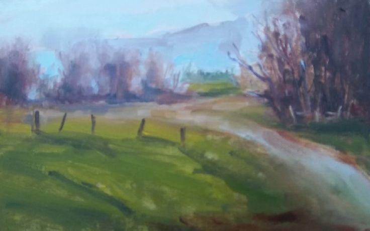Winter Mauves by Jane Meyler on ArtClick.ie Ireland Plein Air Art