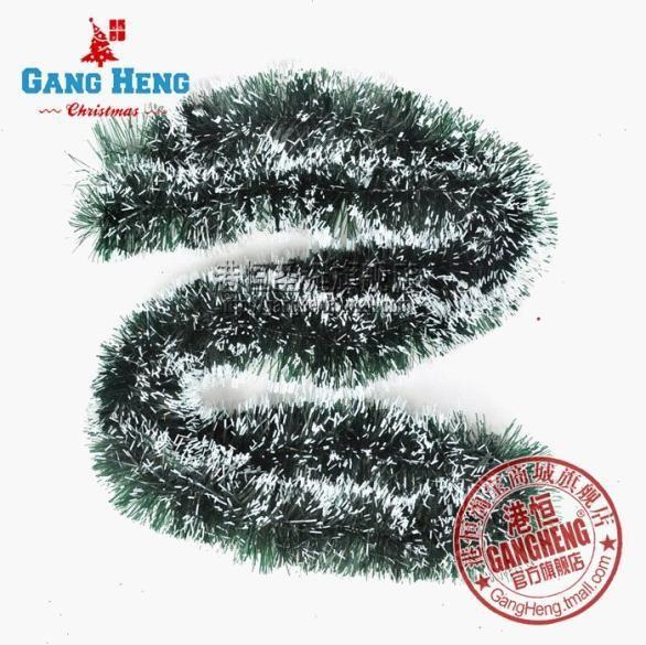 Бесплатная доставка 200 см/шт. 10 шт./лот рождественских деревьев лента ротанга повесить украшения Цветные полосы зеленый оптовая R189