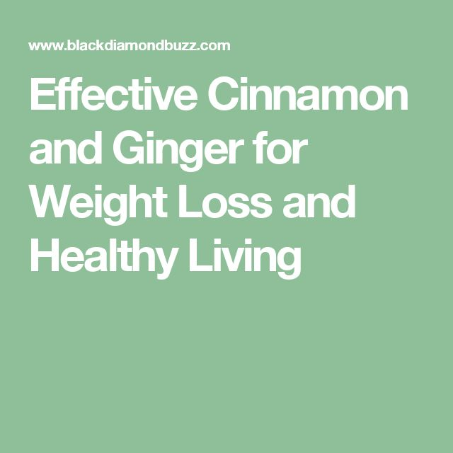 Effective Cinnamon and Ginger for Weight Loss and Healthy Living