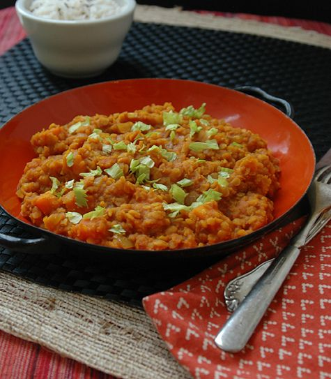 Red Lentil Curry Recipe — Dishmaps