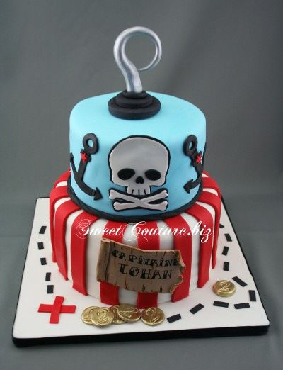 Gateau theme pirate