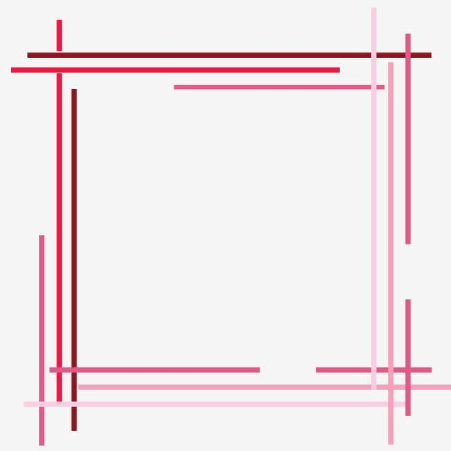 Pink Minimalist Cartoon Cute Line Creative Border Lovely Simple Pink Png Transparent Clipart Image And Psd File For Free Download Framed Abstract Prints For Sale Clip Art