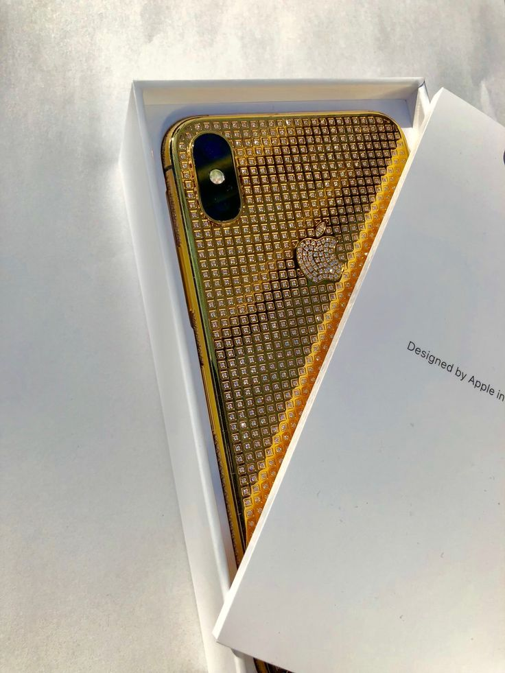 iPhone X 24K Gold Crystal   Limited Edition   Crystals. Gold. Iphone