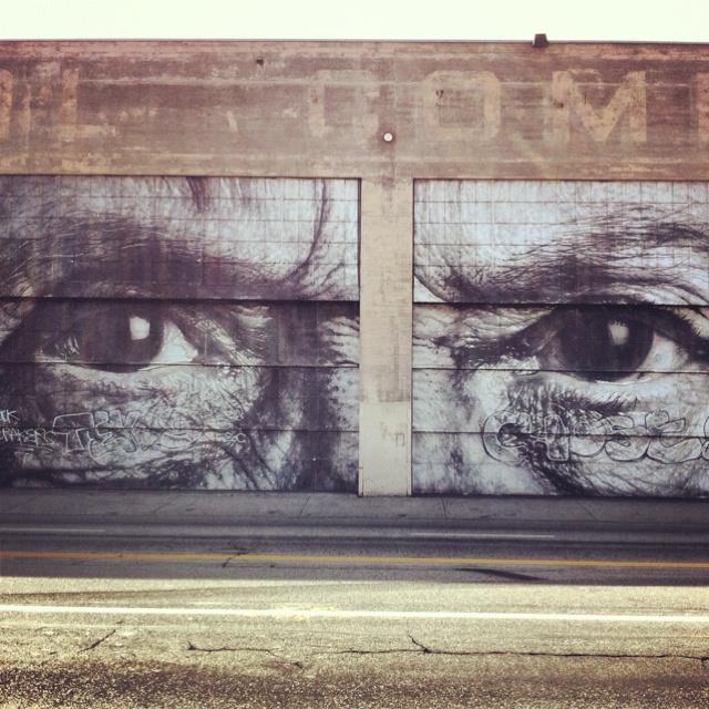 JR in L.A.: Street Art