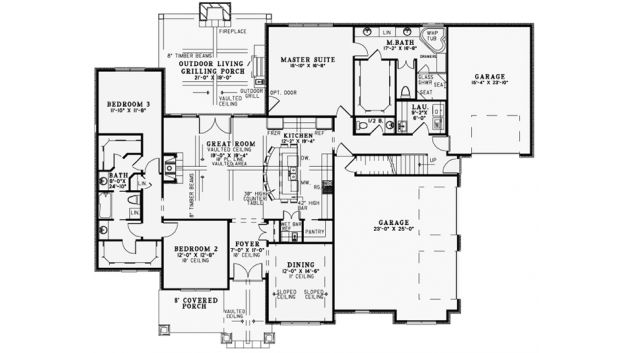 Best floor plan ever 3 bed 2 bath floor plan building for Best house plans ever