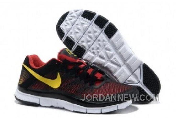 nike free runs trainer cym red black yellow 553684 600