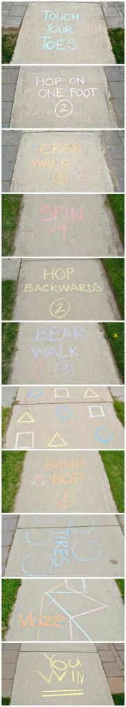 The Tough Mudder of hopscotch                                                                                                                                                                                 More
