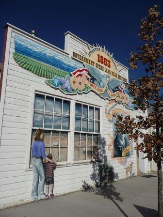 Carlson building at Pioneer Museum in #Berthoud, #Colorado. #history
