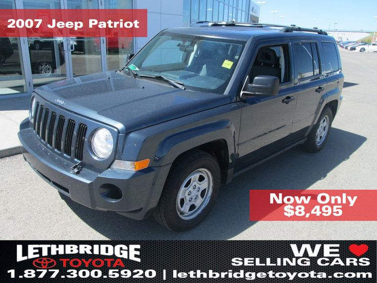 2007 Jeep Patriot for sale in Lethbridge, AB Canada