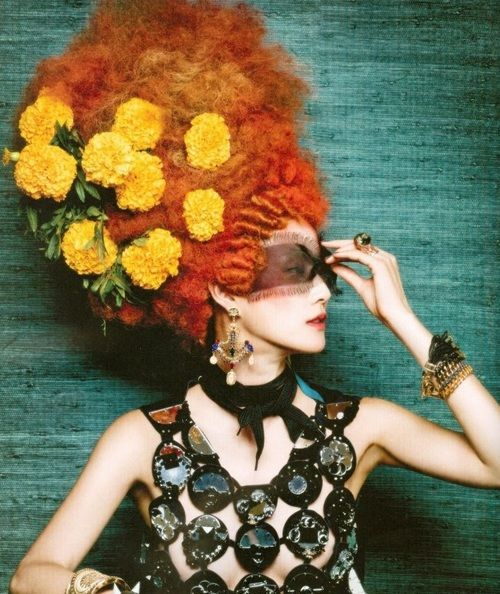 delightfully decadent.. xx tracy porter~poetic wanderlust- Vogue Korea - September 2012